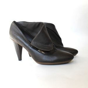 Coach Alexandria Leather Ankle Boots Worn Once